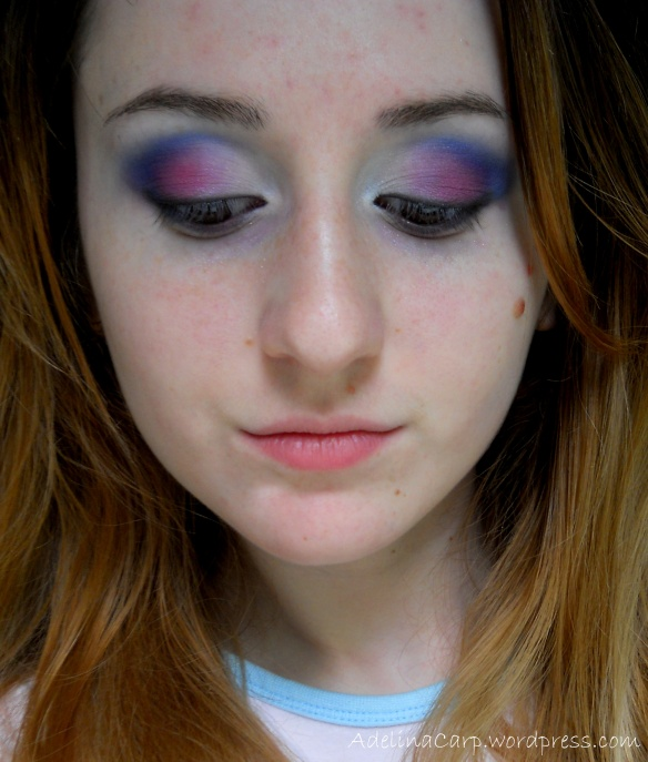 4th of july makeup ideas 2013-All in one