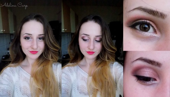 Valentine's day Outfit, makeup and nails 2014w